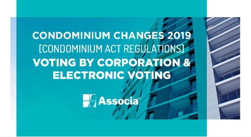 Condominium Changes 2019: Condominium Act Regulations: Meetings and Voting: Voting By Corporation & Electronic Voting