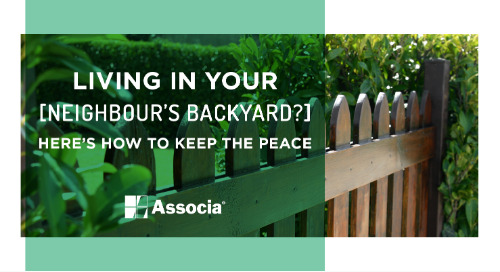 Living in Your Neighbour's Backyard? Here's How to Keep the Peace