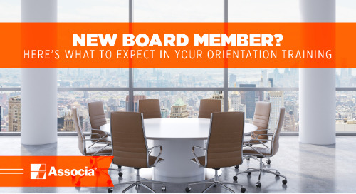 New Board Member? Here's What to Expect in Your Orientation Training