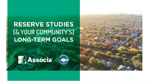 Partner Post: Reserve Studies & Your Community's Long-Term Goals