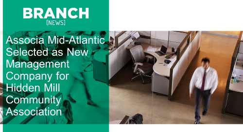 Associa Mid-Atlantic Selected as New Management Company for Hidden Mill Community Association