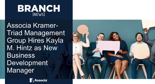 Associa Kramer-Triad Management Group Hires Kayla M. Hintz as New Business Development Manager