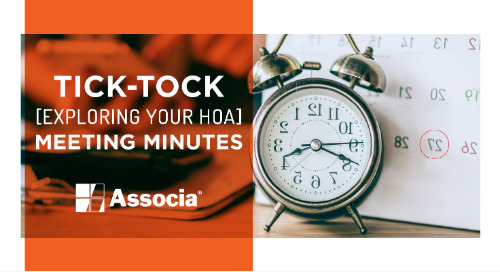 Tick-Tock: Exploring Your HOA Meeting Minutes