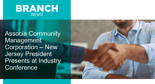 Associa Community Management Corporation – New Jersey President Presents at Industry Conference