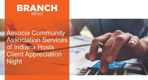 Associa Community Association Services of Indiana Hosts Client Appreciation Night