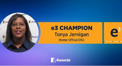 e3 Champion: Keeping the Associa Family Connected