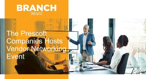 The Prescott Companies Hosts Vendor Networking Event