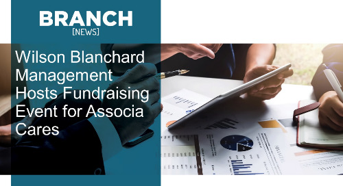 Wilson Blanchard Management Hosts Fundraising Event for Associa Cares
