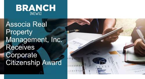 Associa Real Property Management, Inc. Receives Corporate Citizenship Award