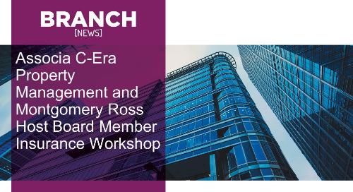 Associa C-Era Property Management and Montgomery Ross Host Board Member Insurance Workshop