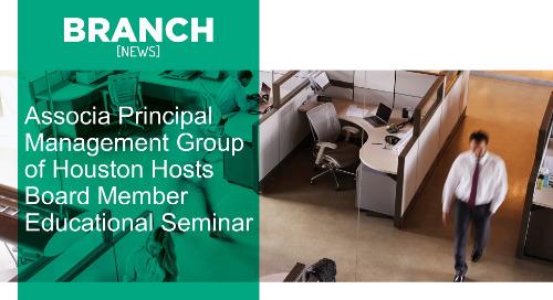 Associa Principal Management Group of Houston Hosts Board Member Educational Seminar