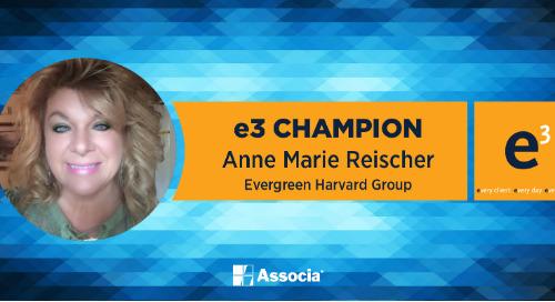 e3 Champion: Embracing Change & Inspiring Team Members