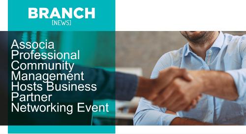 Associa Professional Community Management Hosts Business Partner Networking Event