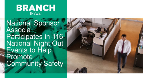 National Sponsor Associa Participates in 116 National Night Out Events to Help Promote Community Safety
