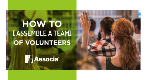 How to Assemble a Team of Volunteers