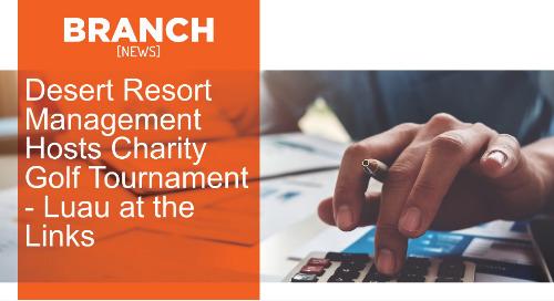 Desert Resort Management Hosts Charity Golf Tournament - Luau at the Links