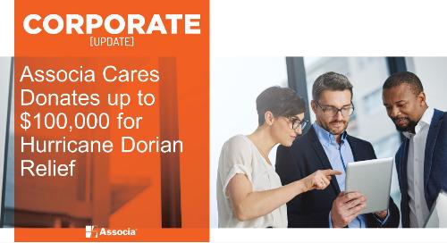 Associa Cares Donates up to $100,000 for Hurricane Dorian Relief