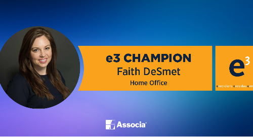 e3 Champion: Embodying Our Core Values