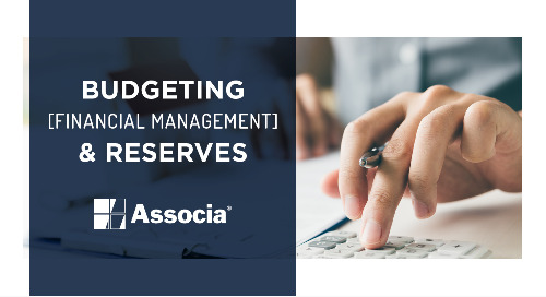 Video 4: Budgeting, Financial Management, & Reserves