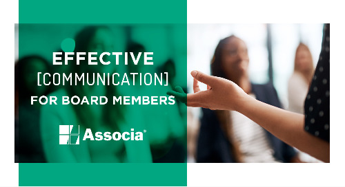 Video 5: Effective Communication for Board Members