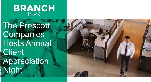The Prescott Companies Hosts Annual Client Appreciation Night