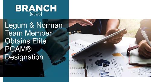 Legum & Norman Team Member Obtains Elite PCAM® Designation