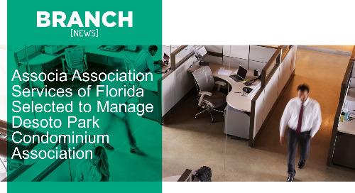 Associa Association Services of Florida Selected to Manage Desoto Park Condominium Association