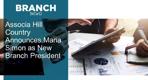 Associa Hill Country Announces Maria Simon as New Branch President