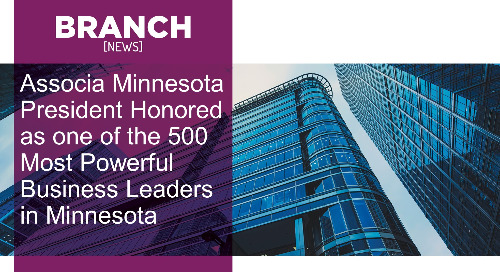 Associa Minnesota President Honored as one of the 500 Most Powerful Business Leaders in Minnesota