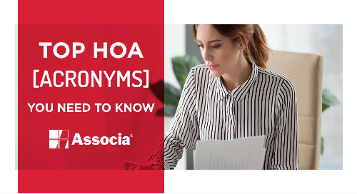 Top HOA Acronyms You Need to Know