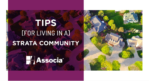 Tips for Living in a Strata Community