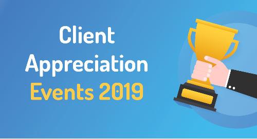 2019 Client Appreciation Events
