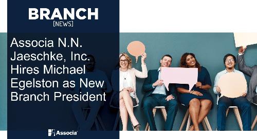 Associa N.N. Jaeschke, Inc. Hires Michael Egelston as New Branch President