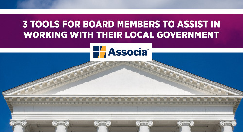3 Tools for Board Members to Assist in Working With Their Local Government