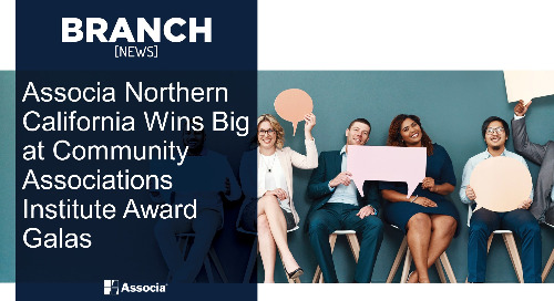 Associa Northern California Wins Big at Community Associations Institute Award Galas
