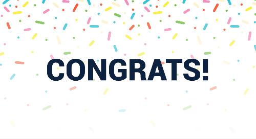 Congrats to Jill Geiger!