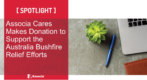 Associa Cares Makes Donation to Support the Australia Bushfire Relief Efforts