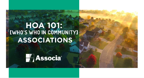 HOA 101: Who's Who in Community Associations