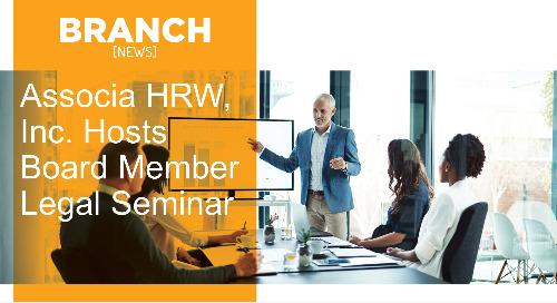 Associa HRW, Inc. Hosts Board Member Legal Seminar