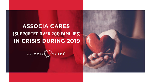 Associa Cares Supported Over 200 Families in Crisis During 2019