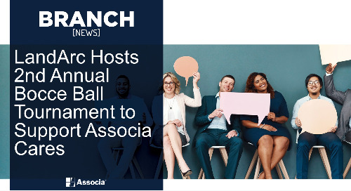 LandArc Hosts 2nd Annual Bocce Ball Tournament to Support Associa Cares
