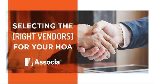 Selecting the Right Vendors for Your HOA