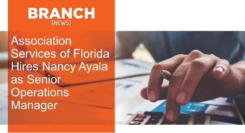 Association Services of Florida Hires Nancy Ayala as Senior Operations Manager