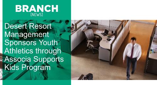Desert Resort Management Sponsors Youth Athletics through Associa Supports Kids Program