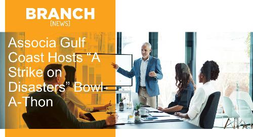 "Associa Gulf Coast Hosts ""A Strike on Disasters"" Bowl-A-Thon"