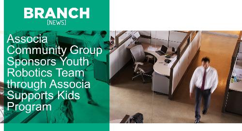 Associa Community Group Sponsors Youth Robotics Team through Associa Supports Kids Program