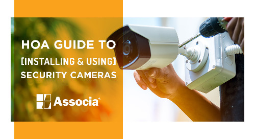 HOA Guide to Installing & Using Security Cameras