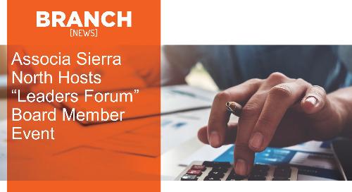 "Associa Sierra North Hosts ""Leaders Forum"" Board Member Event"
