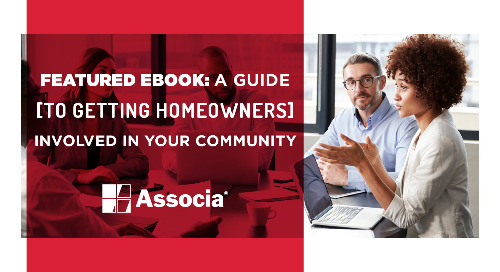 February Featured Ebook: A Guide to Getting Homeowners Involved in Your Community