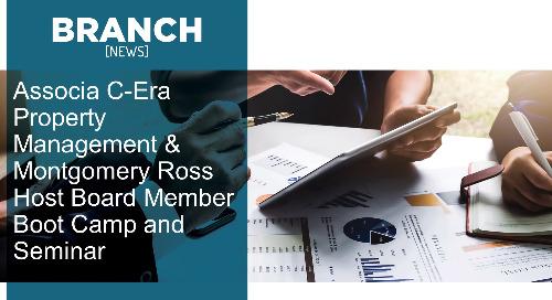 Associa C-Era Property Management & Montgomery Ross Host Board Member Boot Camp and Seminar